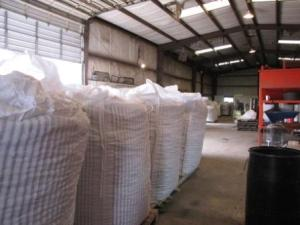 each of these bags holds 1800- 1900 POUNDS of pecans!