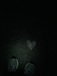 love the ground beneath my feet