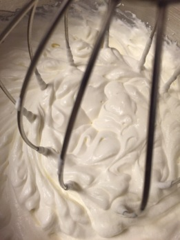 whipped cream-y goodness