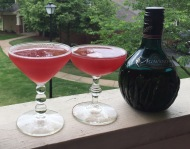 Agavero Pom cocktail