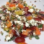 farro herb salad